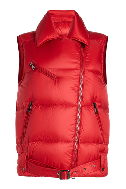 Moncler Gear Down Vest  in red