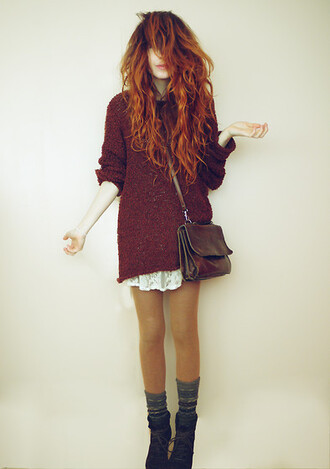 sweater hipster indie