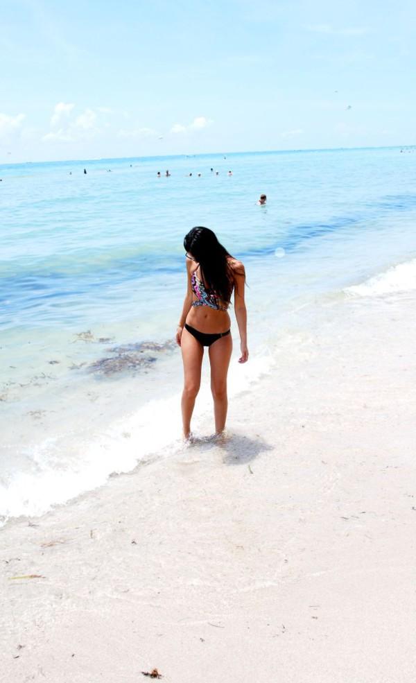 the material girl swimwear top sunglasses