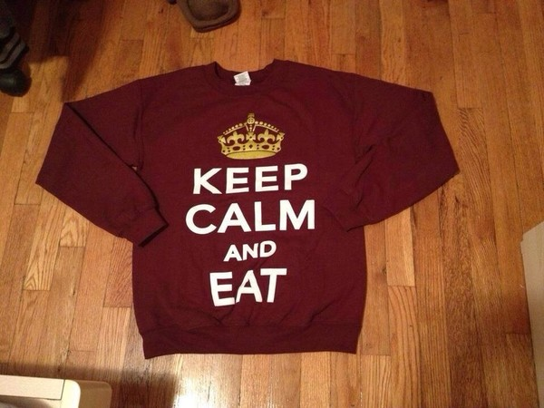 sweater keep calm