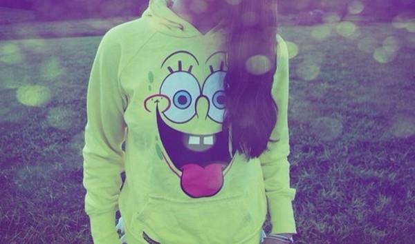 sweater spongebob