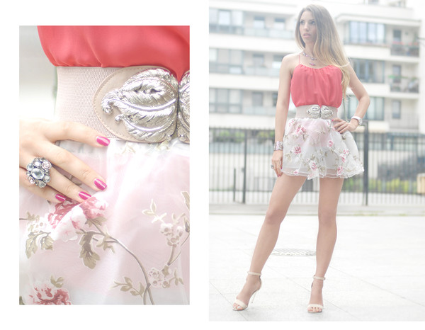 matti su blogger top jewels bag shoes skirt