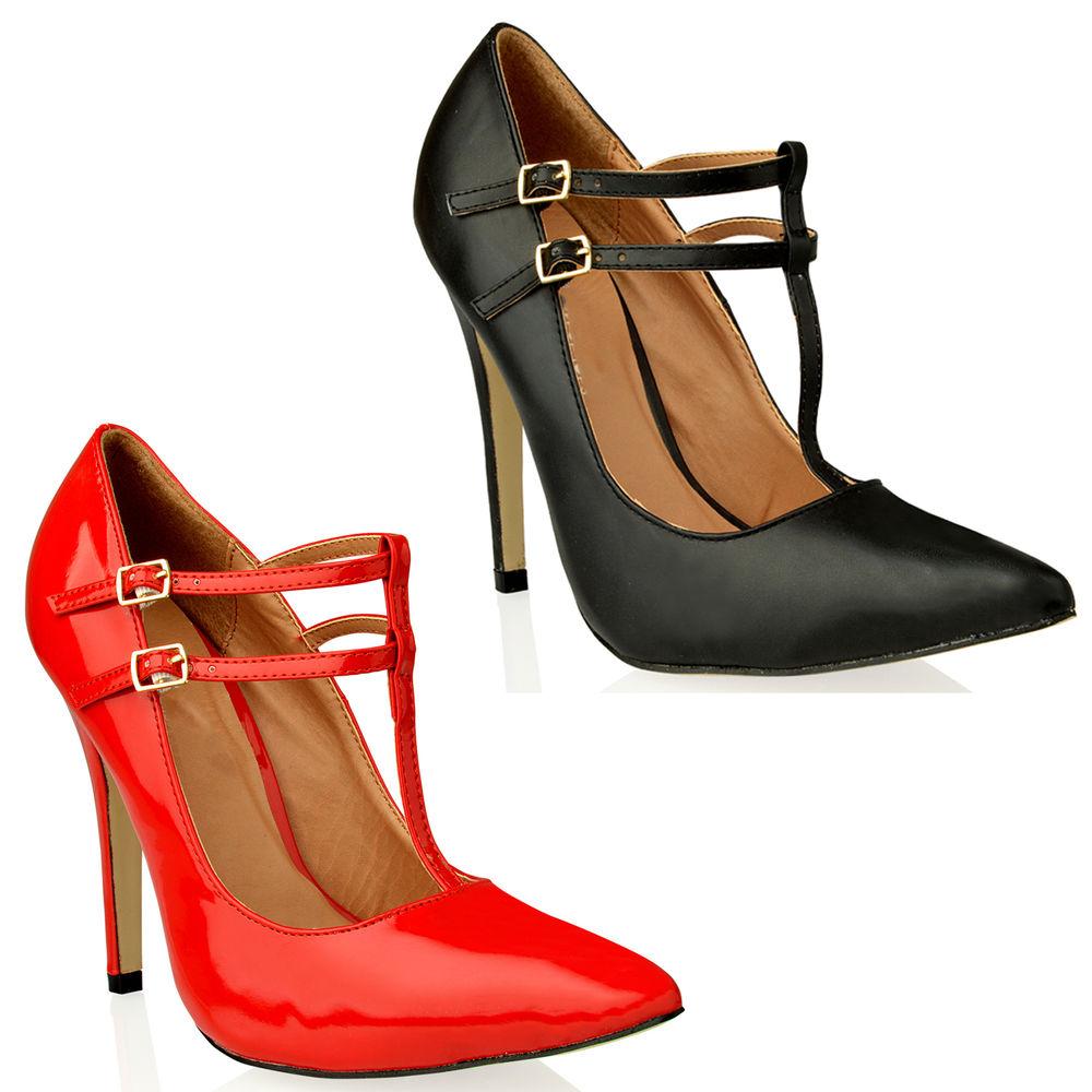 Ladies Red High Heel Shoes
