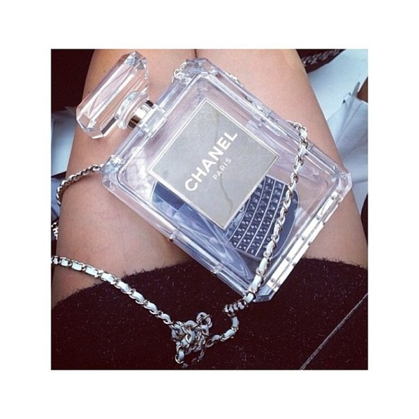 bag transparent  bag chanel chanel bag transparent
