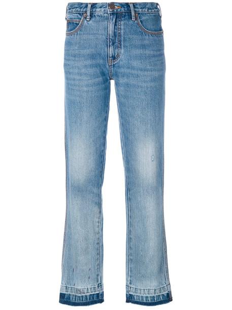 jeans women classic light cotton blue