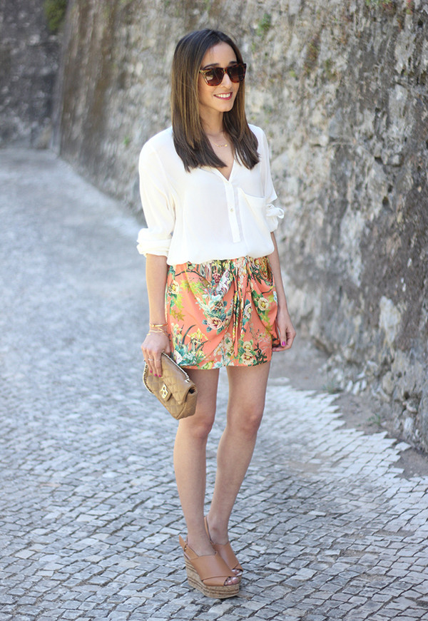 besugarandspice skirt bag t-shirt jewels blouse shoes