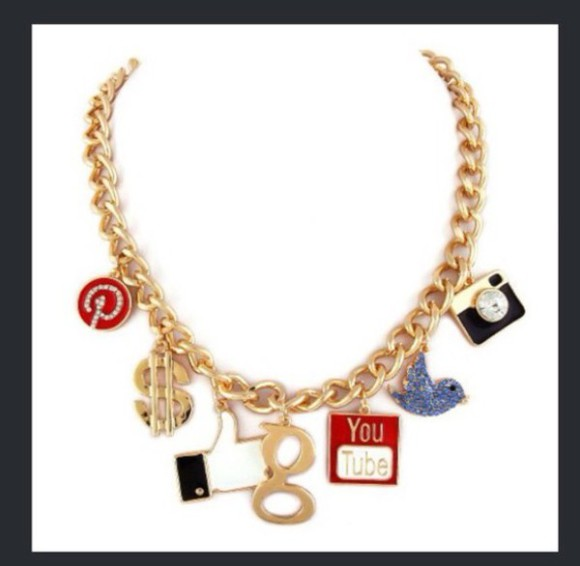 jewels gold cute necklace chain dope instagram twitter money pintrest charm