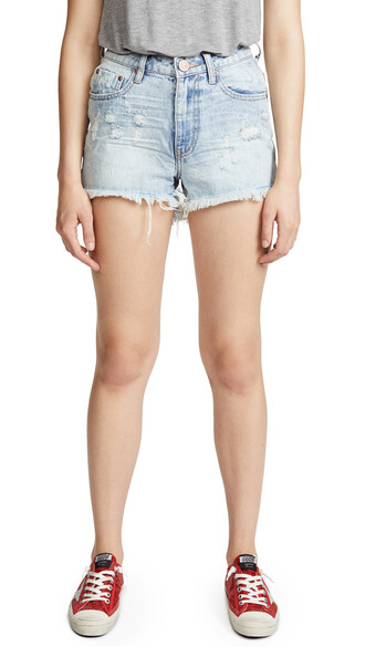 shorts denim shorts denim high blue