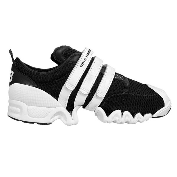 b86565ee495c shoes black and white velcro trainers y-3 adidas kubo womens trainers y-3