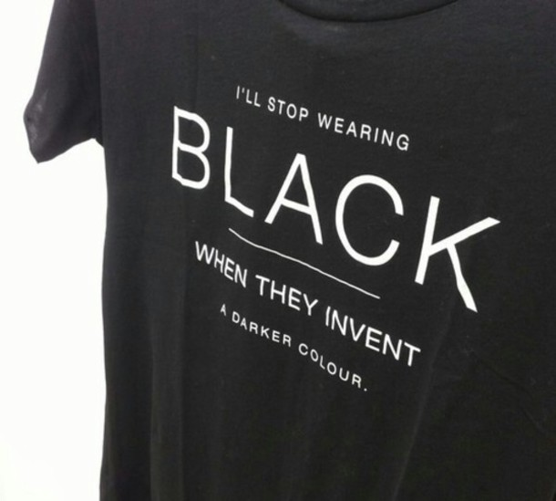 Shirt: t-shirt, dark, t-shirt, - 42.4KB