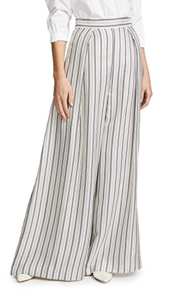 Zimmermann pants palazzo pants heart blue grey