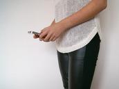 pants,leggings,black,leather