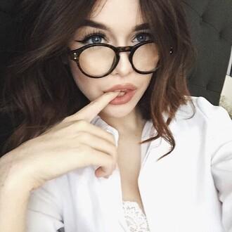 sunglasses lunnette de soleil round frame glasses round glasses glasses acacia brinley acacia brinley #acacia clark acacia acaciabrinley