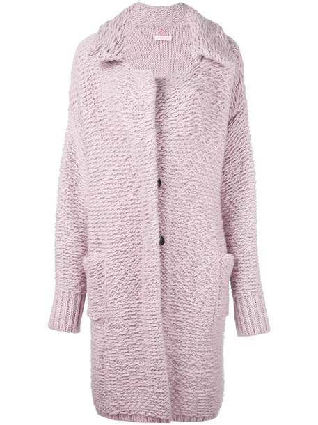 A.F.VANDEVORST coat women wool purple pink