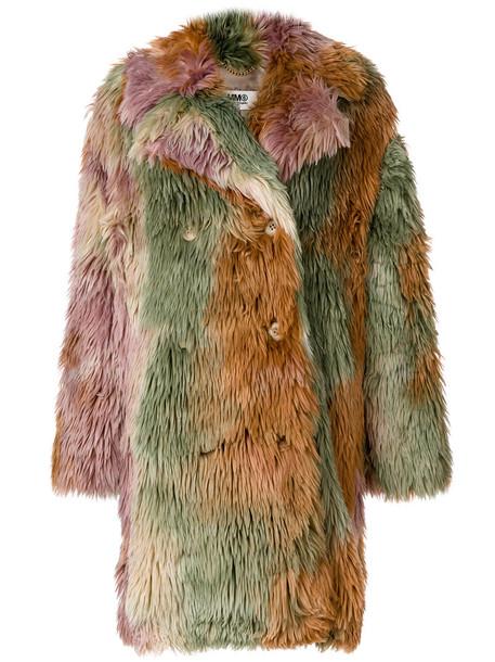 Mm6 Maison Margiela coat oversized coat oversized women