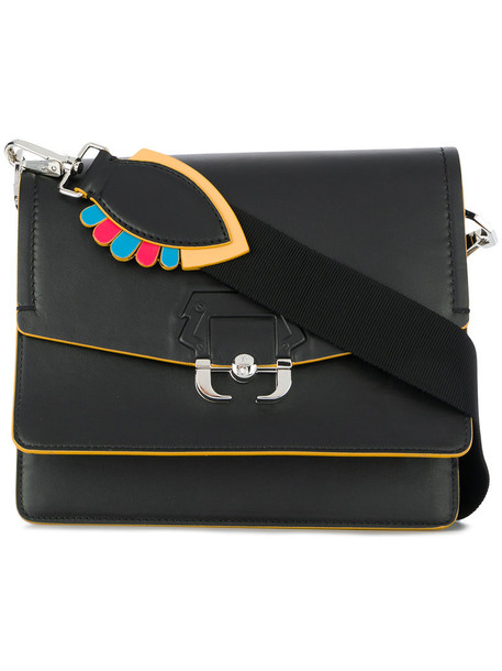 PAULA CADEMARTORI women bag shoulder bag leather black