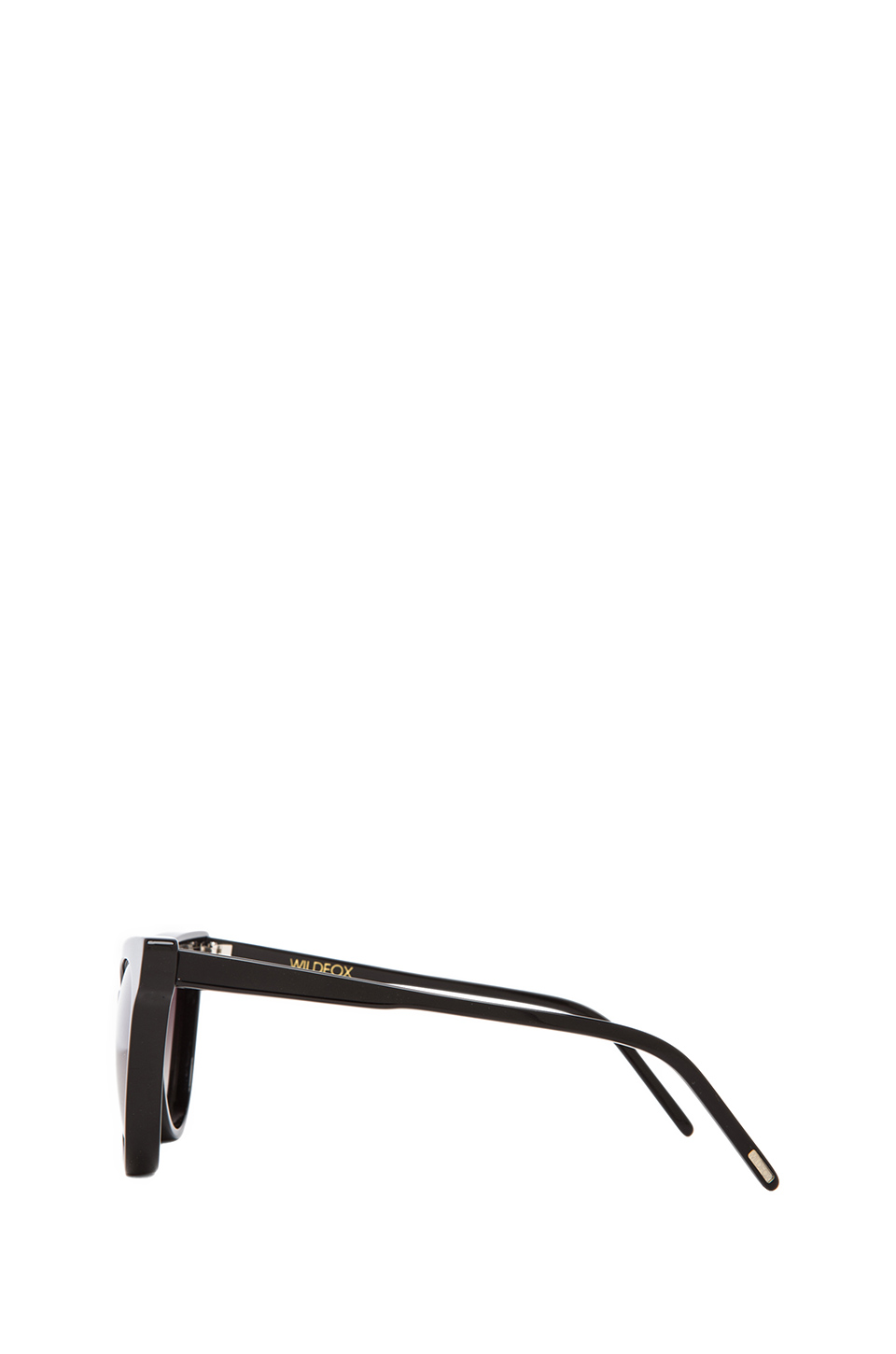 Wildfox Couture Le Femme Sunglasses in Black | REVOLVE