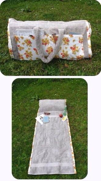 bag pillow picnic picnic blanket pattern floral floral bag grey bag gray bag indie indie bag boho boho bag bohemian bohemian bag bedding vintage spring
