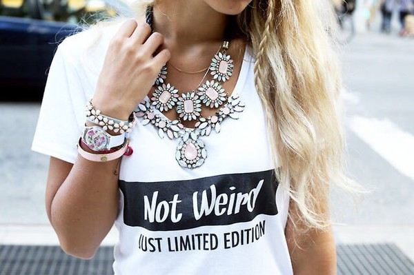 t-shirt jewels t-shirt quote on it quote on it necklace statement necklace