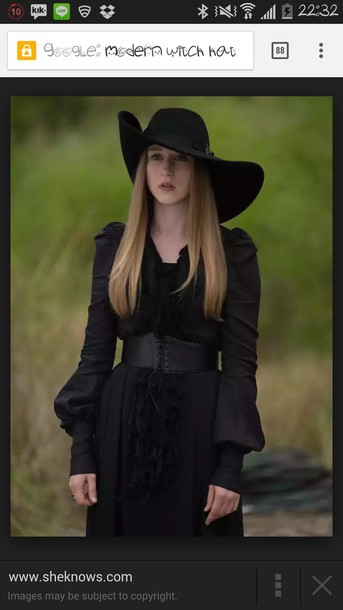 hat black hat witch hat wide brimmed hat asymmetrical asymmetrical