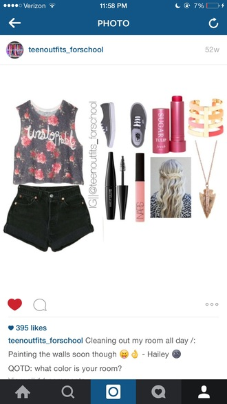 shirt floral floral tank top floral shirt floral t shirt floral crop top crop tops crop cropped cropped tee cropped t-shirt tank top tank top.  crop top quote on it t-shirt