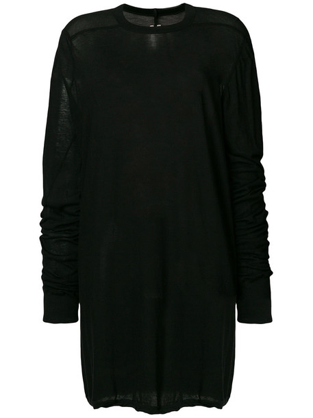 Rick Owens sweater sheer women cotton black