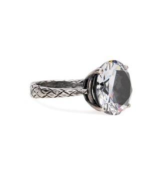 ring grey jewels