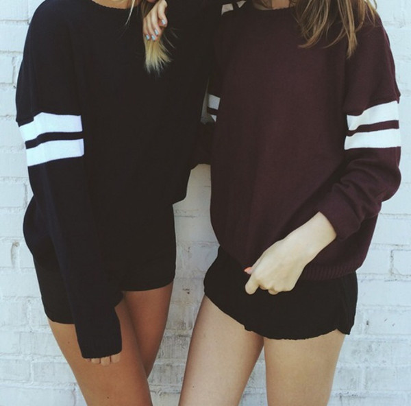 swe sweater black burgundy cute fall outfits fall sweater