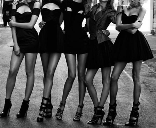 dress black dress mini black dress little black dress shoes strappy black shoes open back dresses sexy party dresses