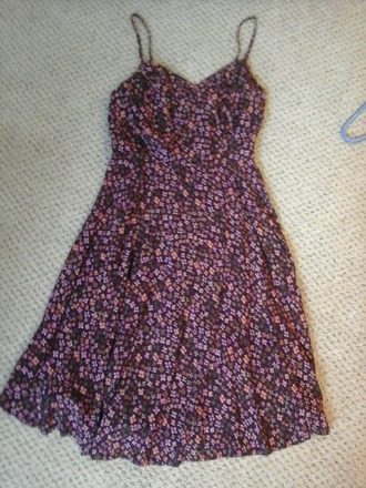 dress floral old navy purple dress short dress