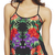Tropical Flower Chiffon Swing Tank | Arden B.