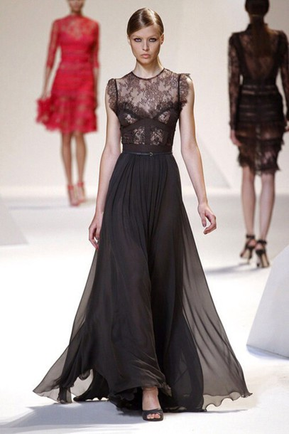 dress lace gown
