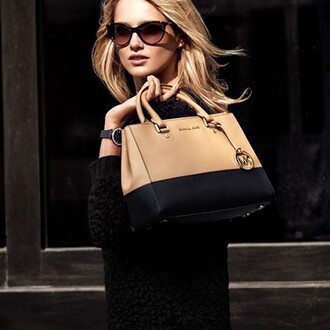 bag bags neutral fashion style instagram michael kors