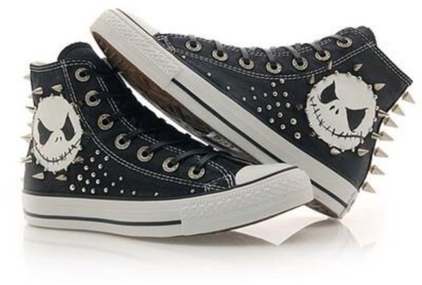 Shoes: converse look, nightmare before christmas - Wheretoget