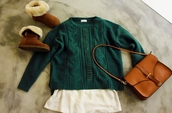 sweater,winter sweater,bag,shoes
