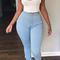 Skinny high waist jeggings