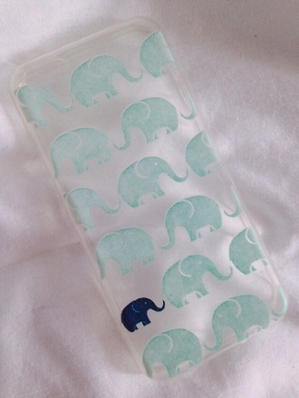 phone cover blue dress elephant cute dress adorable. iphone cover