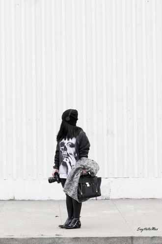 sweater dark printed sweater full print sweatshirt skull skull sweater sweat the style sweatshirt fashion vibe tumblr outfit black streetwear streetstyle urban urban outfitters