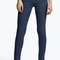 Evie low rise basic mid blue skinny jeans