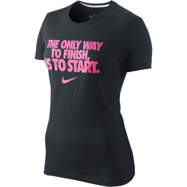Nike The Only Way Women's T-Shirt - Polyvore