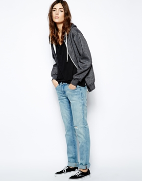 Blank | Blank NYC Boyfriend Jeans With Ripped Knee at ASOS