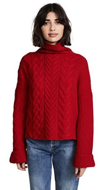 Zadig & Voltaire sweater turtleneck turtleneck sweater runway