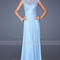 Chiffon a-line high neck long prom dresses uk kquk1409p800274 - katequeen.co.uk