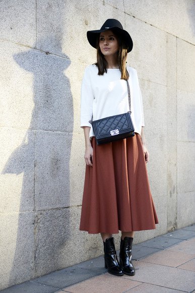 skirt lovely pepa t-shirt shoes bag hat