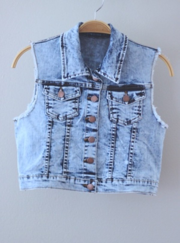coat denim vest cute i love amazing ahhh
