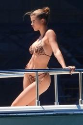 swimwear,sofie richie,bikini,bikini top,bikini bottoms