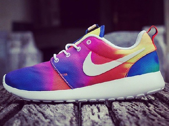 white tie dye tie dye shoes nike nike roshe shoe color nike roshe run pendelton