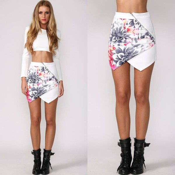 skirt floral skirt skorts shorts