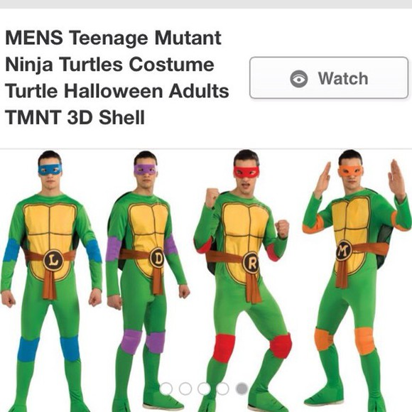 jumpsuit green ninja turtles leonardo michelangelo