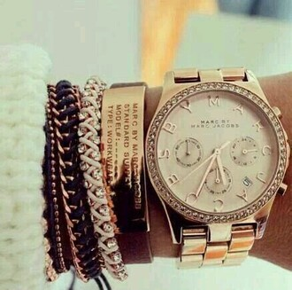jewels watch women marc jacobs gold